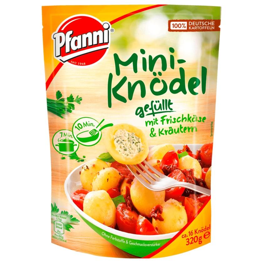 Pfanni Mini-Knödel gefüllt mit Frischkäse und Kräutern 320g