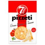 7 Days Pizzeti Grana Padano & Tomate 175g