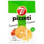 7 Days Pizzeti Emmentaler, Tomate & Knoblauch 175g