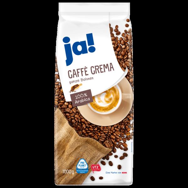 ja! Caffè Crema Bohnen 1kg