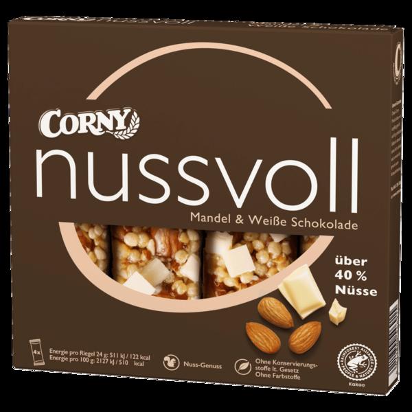 Corny Nussvoll Mandel & weiße Schokolade 4x24g
