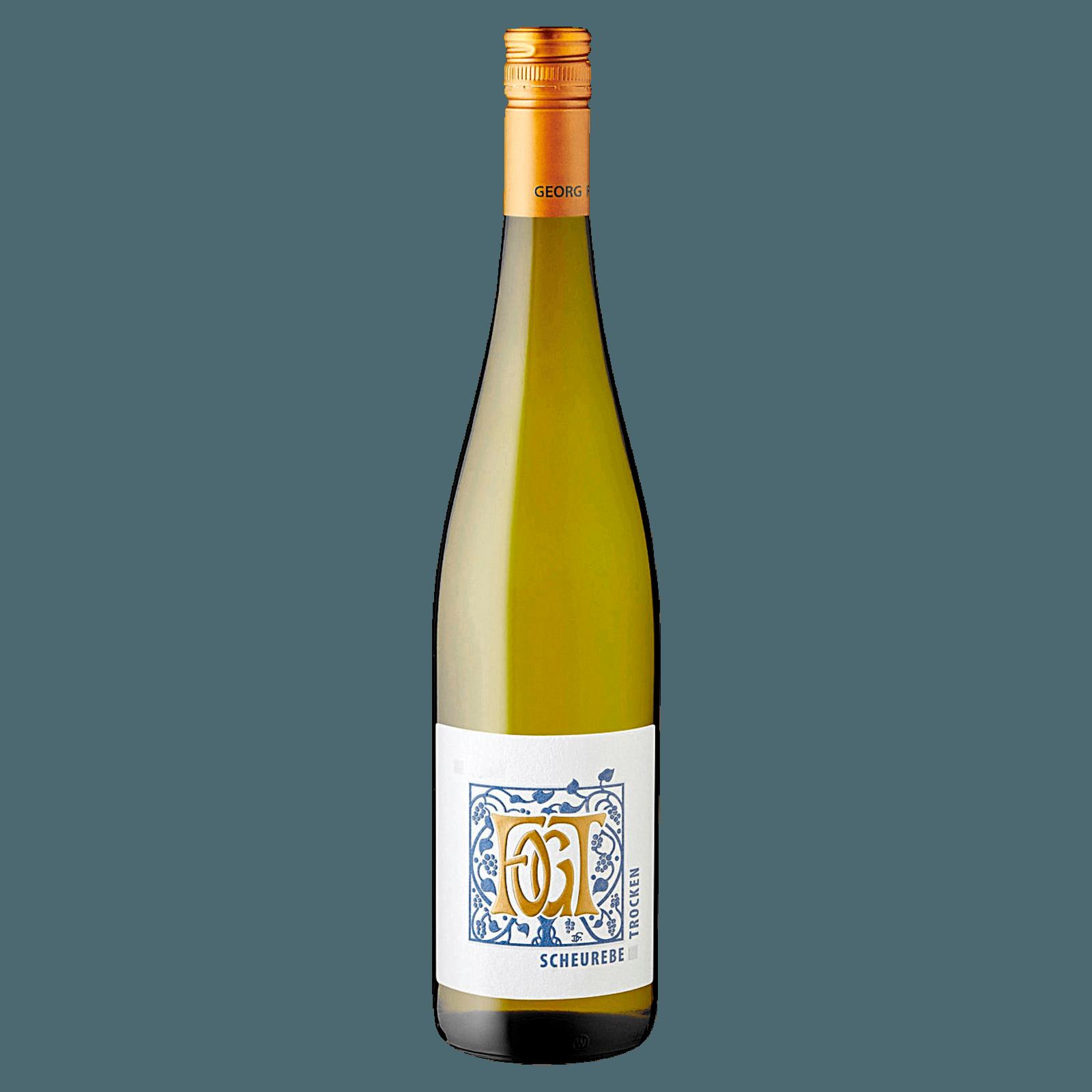 Weingut Fogt Scheurebe trocken 0,75l