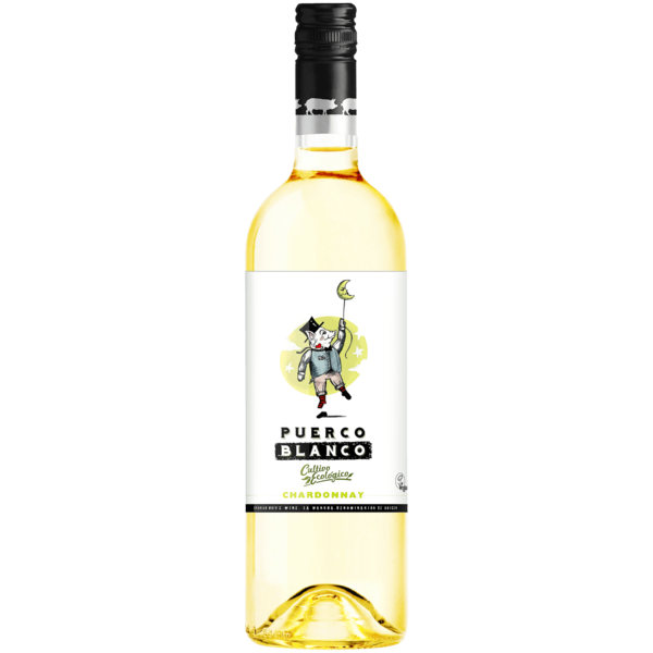 Do La Mancha Puerco Weißwein Blanco Chardonnay Bio trocken 0,75l
