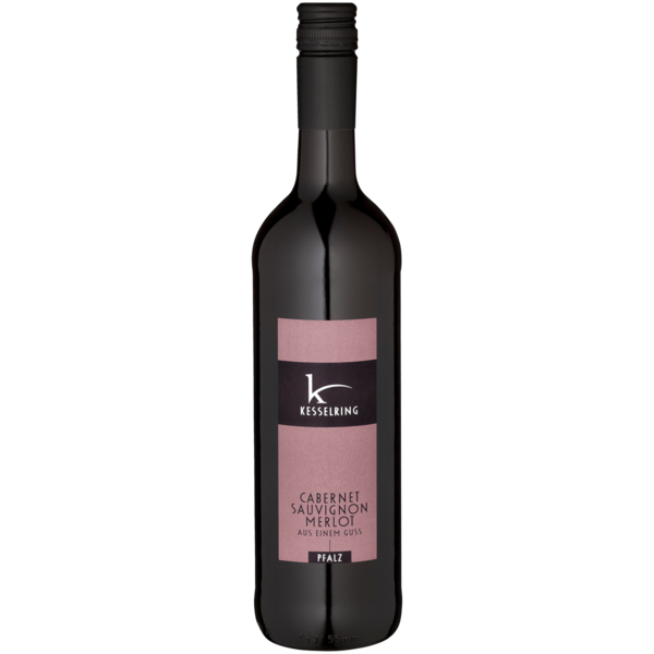 Kesselring Rotwein Cabernet Sauvignon & Merlot Bio trocken 0,75l