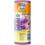 Swirl Duft-Müllbeutel Vanille-Lavendel 10l, 14 Stück