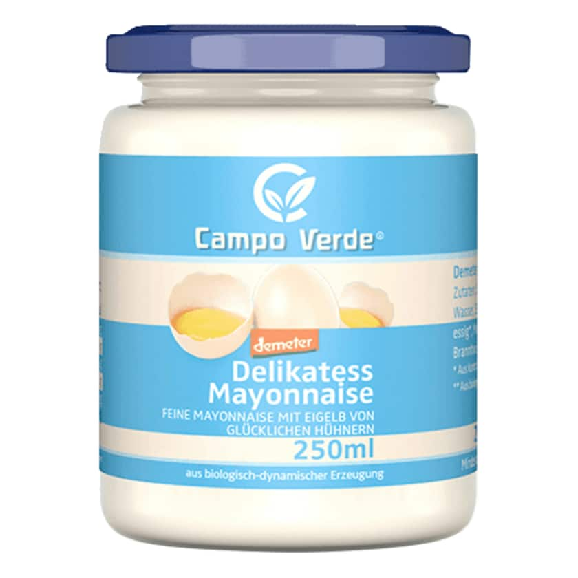 Campo Verde demeter Bio Delikatess Mayonnaise 235ml