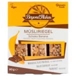 Vantastic foods Beyond Flakes Müsliriegel Schoko-Banane vegan 3 Stück 90g