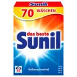 Sunil Vollwaschmittel 4,2 kg, 70 WL