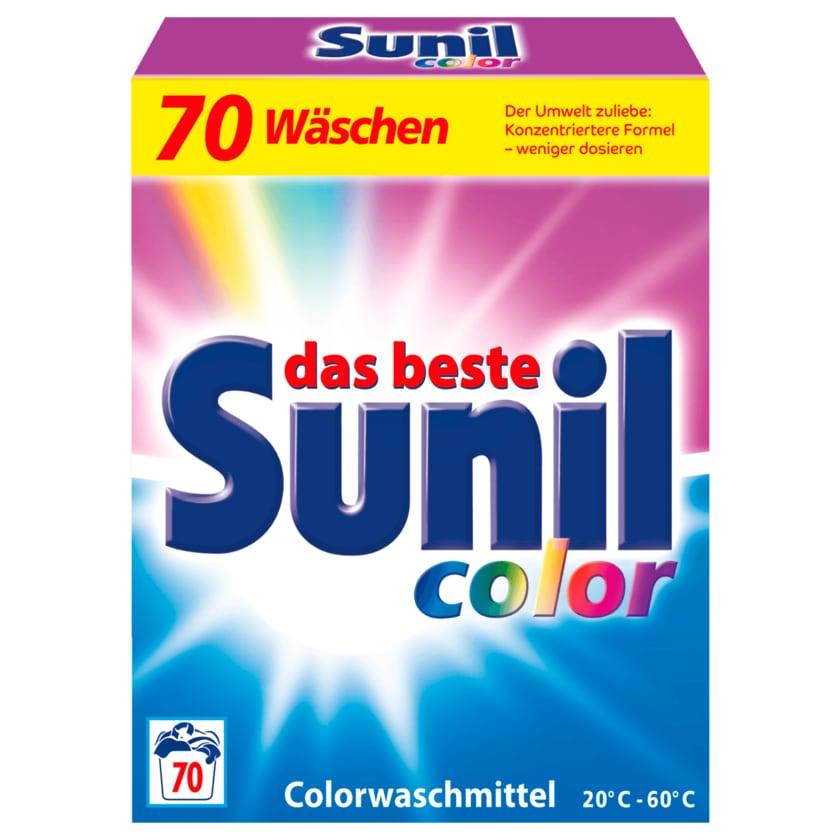 Sunil Colorwaschmittel Color Pulver 4,2 kg