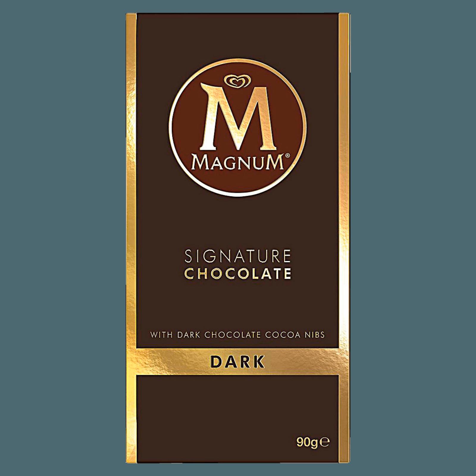 Magnum Signature Chocolate Dark Tafel 90g