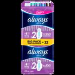 Always Ultra Damenbinden Long mit Flügeln Vorteilspack 22 Stück