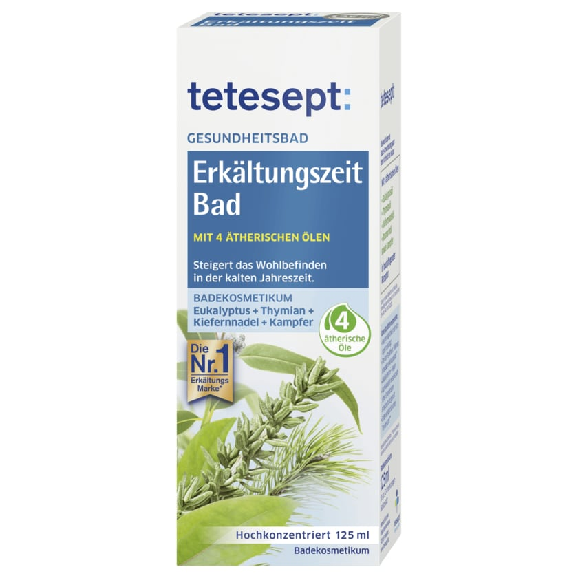 Tetesept Erkältungs Bad 125ml