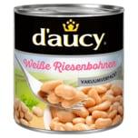 D'aucy Weiße Riesenbohnen vakuumverpackt 285ml