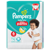 Pampers Baby Dry Pants Gr.6 Extra Large 15+kg Sparpack 21 Stück