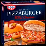 Dr. Oetker Pizzaburger BBQ-Chicken 360g
