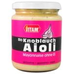 Vitam Bio Knoblauch Aioli Mayonnaise vegan 225ml