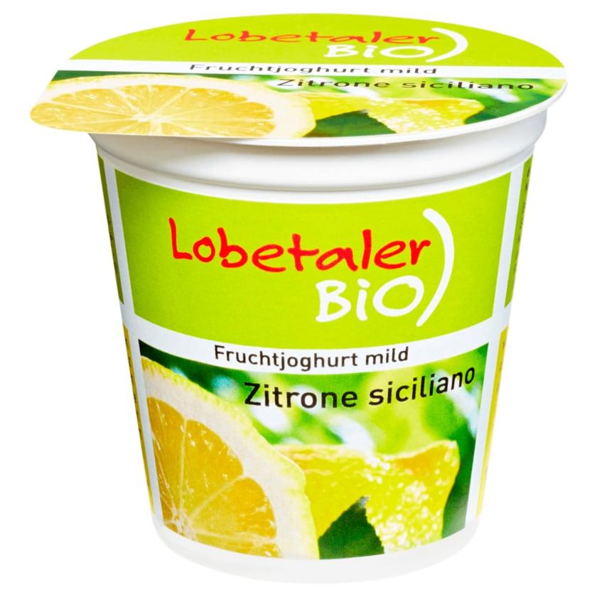 Lobetaler Bio-Joghurt Zitrone 150g