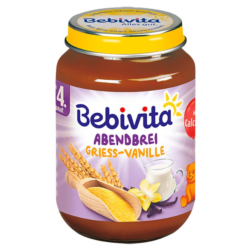 Bebivita Babys Abendbrei Grieß-Vanille 190g