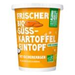 Küchen Brüder veganer Bio Süsskartoffeleintopf Kichererbsen Karotten 400g