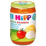 Hipp Pasta Bambina Bio Spaghetti Tomate-Mozzarella 220g