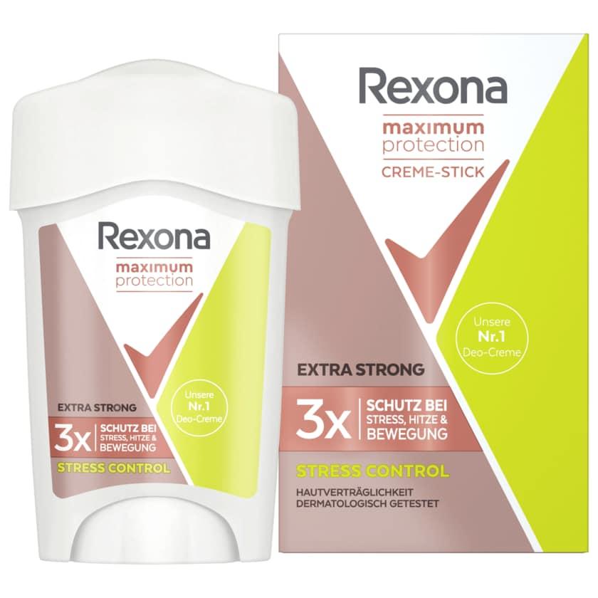 Rexona Deocreme Maximum Protection Stress Control 6x45ml