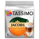 Tassimo Kaffeekapseln Jacobs Latte Macchiato Caramel 268g, 8 Kapseln