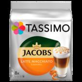 Tassimo Jacobs Latte Macchiato Caramel 268g, 8 Kapseln