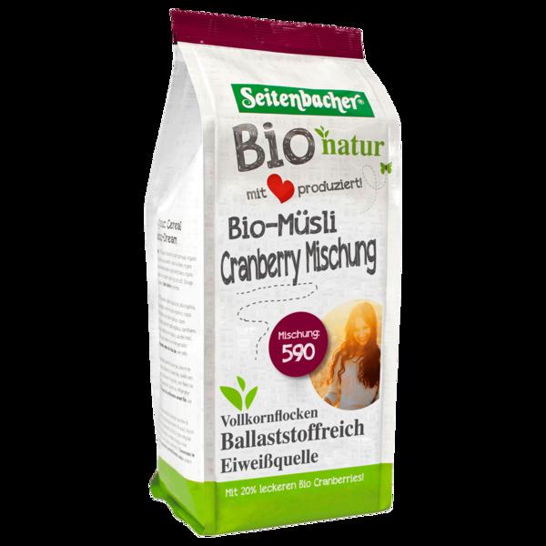 Seitenbacher Bio-Müsli Cranberry-Mischung 500g