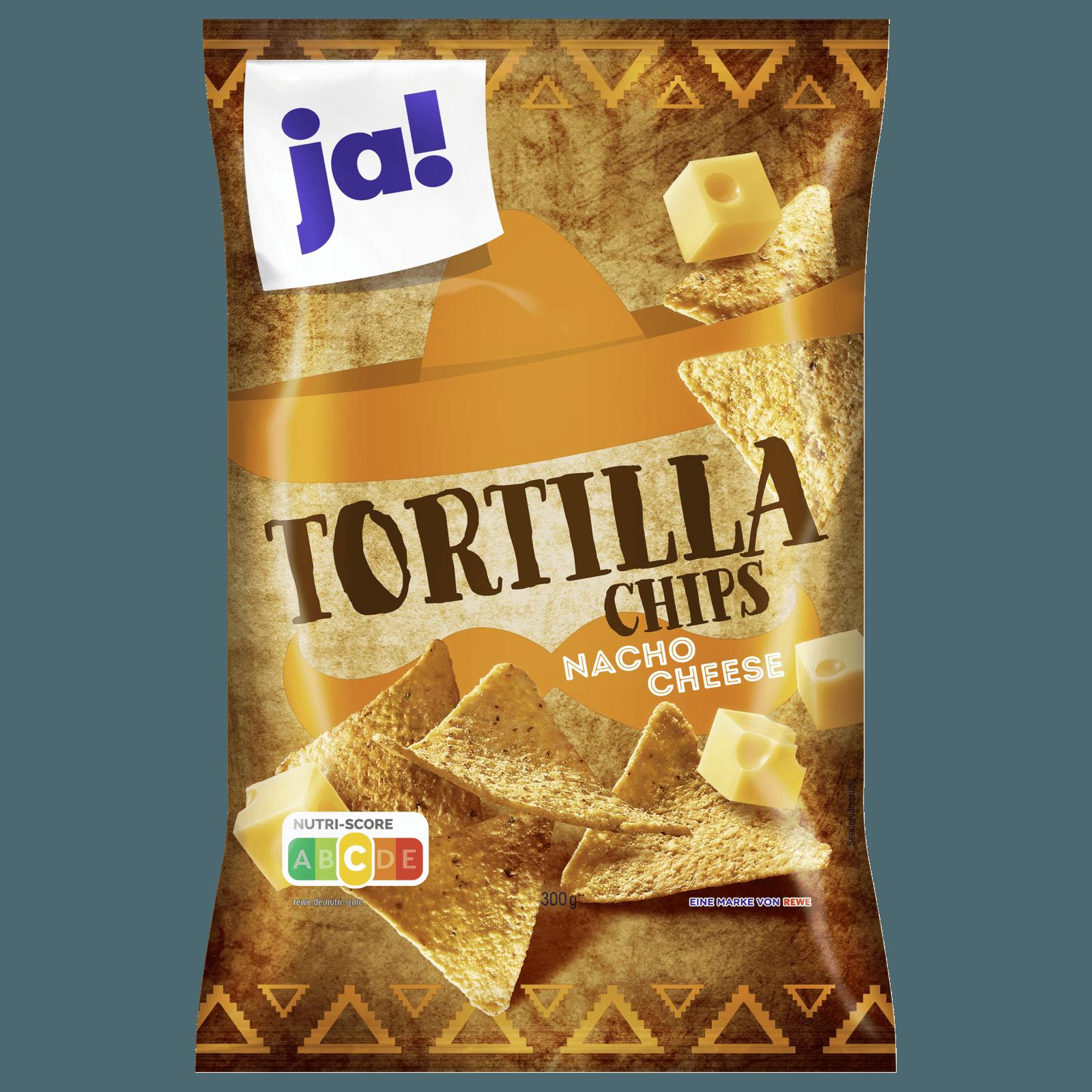 ja! Tortilla-Chips mit Käsegeschmack 300g