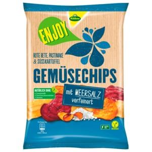 Kühne Enjoy Gemüsechips Meersalz 75g