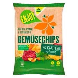Kühne Enjoy Gemüsechips Kräuter 75g