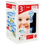 Emsa Clip&Close Glas 3x0,2l