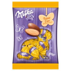Milka Feine Eier Blätterkrokant 90g