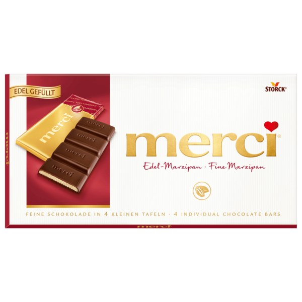 Merci Tafelschokolade Marzipan 112g
