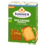 Demeter Sommer Vollkorn Zwieback vegan 200g
