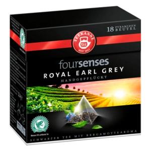 Teekanne foursenses Royal Earl Grey 32,4g, 18 Beutel