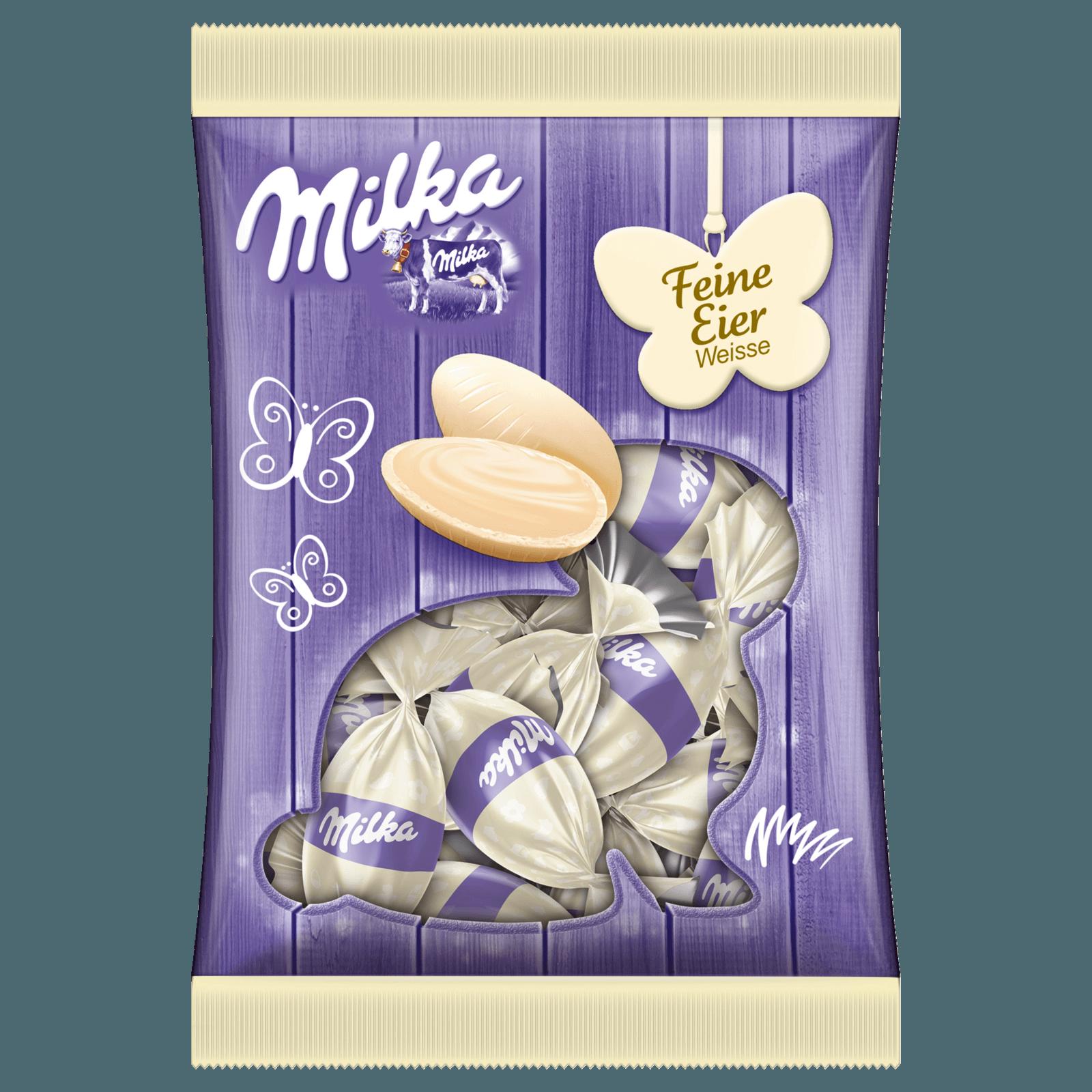 Milka Feine weiße Eier 90g