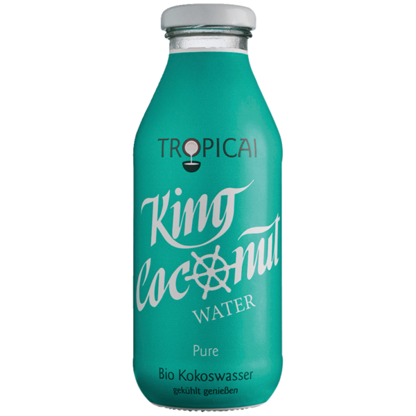 Tropicai King Bio Coconut Water Pure 350ml