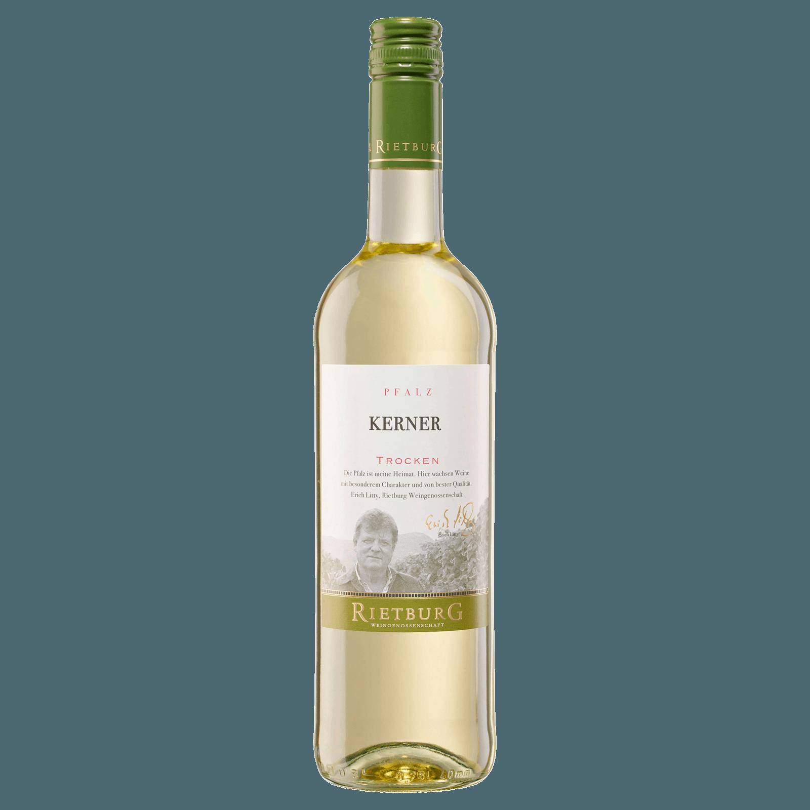 Rietburg Weißwein Kerner trocken 0,75l