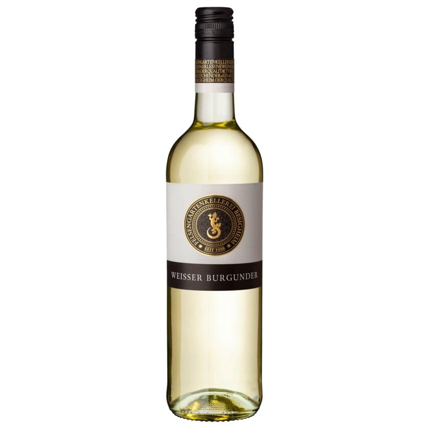 Felsengartenkellerei Besigheim Weißwein Weißer Burgunder QbA trocken 0,75l