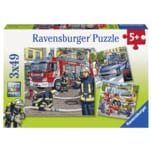Ravensburger Puzzle Helfer in der Not 3x49 Teile