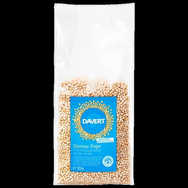 Davert Bio Quinoa Pops 125g
