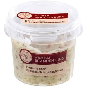 Wilhelm Brandenburg Kräuter-Griebenschmalz 125g