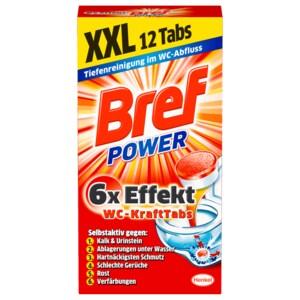 Bref Power WC Kraft-Tabs 300g, 12 Stück