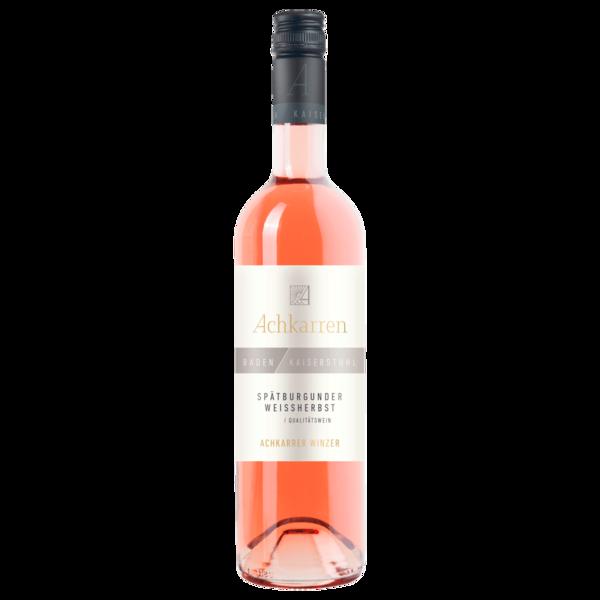 Achkarren Rosé Spätburgunder Weißherbst halbtrocken 0,75l
