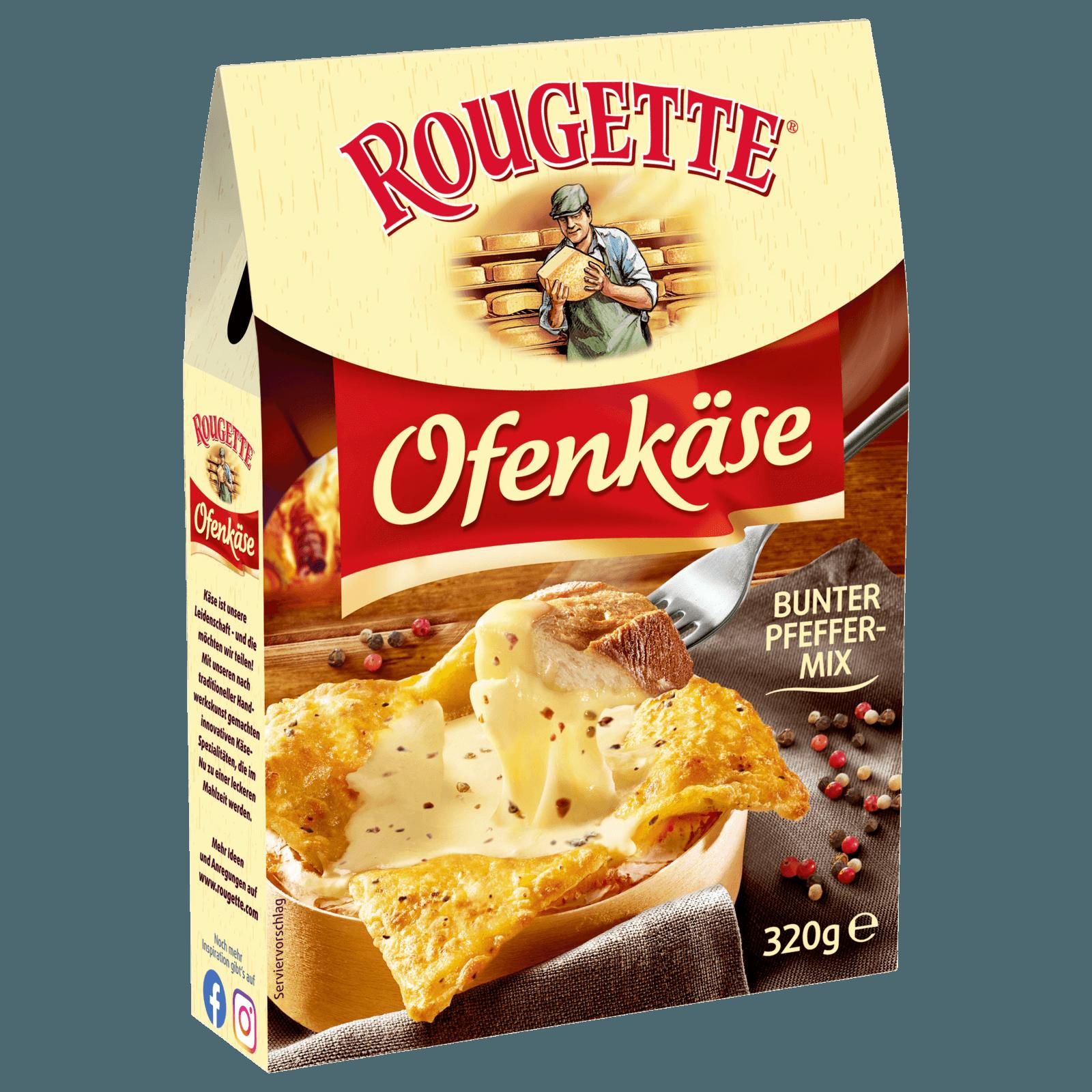 Rougette Ofenkäse Sorte der Saison Bunter Pfeffermix 320g