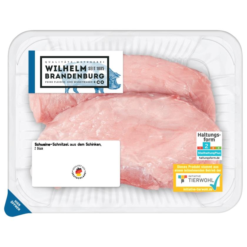 Wilhelm Brandenburg Schweine-Schinken-Schnitzel 2 Stück ca. 360g