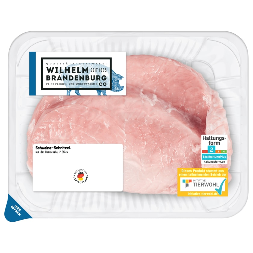 Wilhelm Brandenburg Schweine-Schnitzel