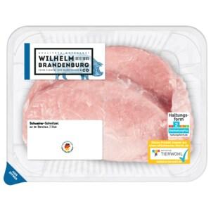 Wilhelm Brandenburg Schweine-Schnitzel ca. 360g, 2 Stück