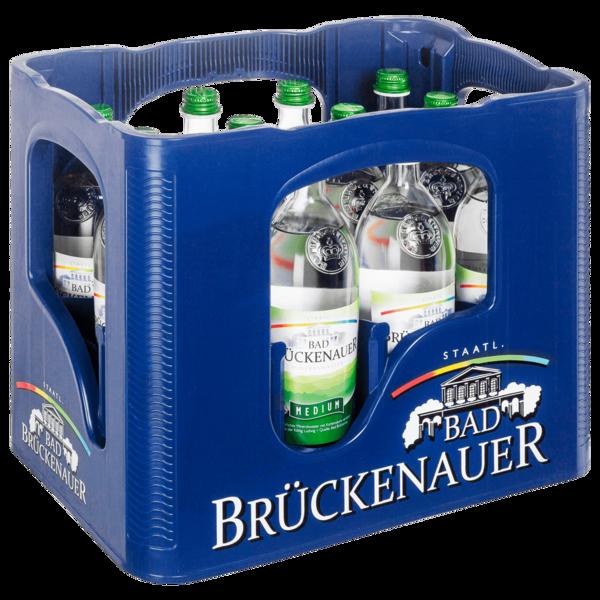 Bad Brückenauer Mineralwasser Medium 12x0,75l